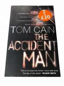 The Accident Man - Samuel Carver #1- Tom Cain ENG